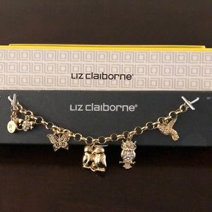 Liz Claiborne charm bracelet
